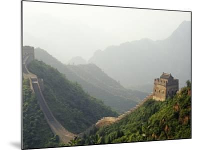 China, Tianjin, Taipinzhai; a Section of China's Great Wall from Taipinzhai to Huangyaguan-Amar Grover-Mounted Photographic Print