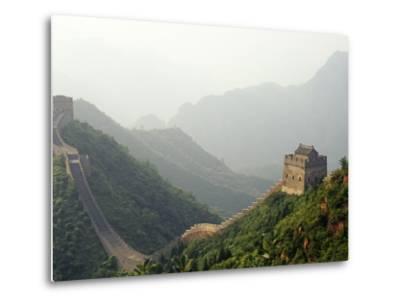 China, Tianjin, Taipinzhai; a Section of China's Great Wall from Taipinzhai to Huangyaguan-Amar Grover-Metal Print