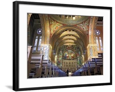 Basilica of St; Therese, Lisieux, Calvados Departement, Lower Normandy, France-Ivan Vdovin-Framed Photographic Print
