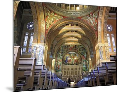Basilica of St; Therese, Lisieux, Calvados Departement, Lower Normandy, France-Ivan Vdovin-Mounted Photographic Print