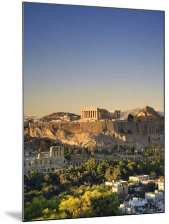 Greece, Attica, Athens, the Acropolis and Parthenon-Michele Falzone-Mounted Photographic Print