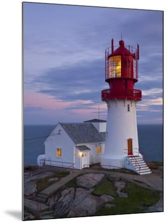 The Idyllic Lindesnes Fyr Lighthouse, Lindesnes, Norway-Doug Pearson-Mounted Photographic Print