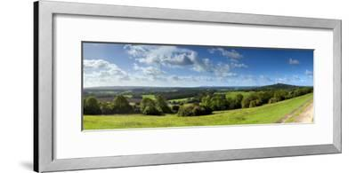 North Downs from Newlands Corner, Nr; Guildford, Surrey, England-Jon Arnold-Framed Photographic Print