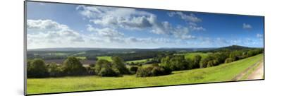 North Downs from Newlands Corner, Nr; Guildford, Surrey, England-Jon Arnold-Mounted Photographic Print