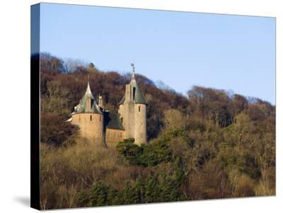 Europe, Uk, United Kingdom, Wales, Cardiff, Castell Coch, (Red Castle)-Christian Kober-Stretched Canvas Print