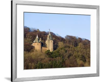 Europe, Uk, United Kingdom, Wales, Cardiff, Castell Coch, (Red Castle)-Christian Kober-Framed Premium Photographic Print