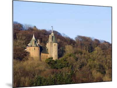 Europe, Uk, United Kingdom, Wales, Cardiff, Castell Coch, (Red Castle)-Christian Kober-Mounted Premium Photographic Print