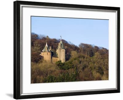 Europe, Uk, United Kingdom, Wales, Cardiff, Castell Coch, (Red Castle)-Christian Kober-Framed Photographic Print