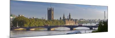 Big Ben, Houses of Parliament and River Thames, London, England-Jon Arnold-Mounted Photographic Print