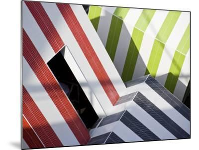 Abstract Design in a Expo in Barcelona, Catalonia, Spain-Carlos Sanchez Pereyra-Mounted Photographic Print