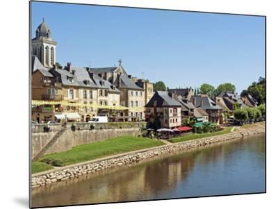 Europe, France, Dordogne, Montignac; the Market Town of Montignac on the Vézère-Nick Laing-Mounted Photographic Print