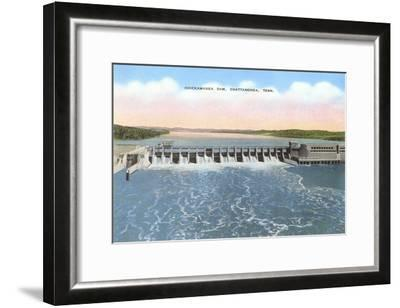 Chickamauga Dam, Chattanooga, Tennessee--Framed Art Print