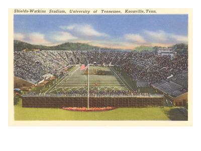 University Stadium, Knoxville, Tennessee--Framed Art Print