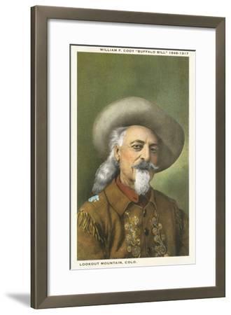 Buffalo Bill--Framed Art Print