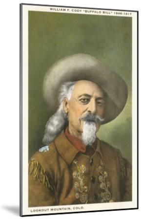 Buffalo Bill--Mounted Art Print