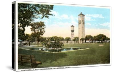 Fort Sam Houston, San Antonio, Texas--Stretched Canvas Print