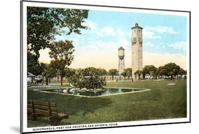 Fort Sam Houston, San Antonio, Texas--Mounted Art Print