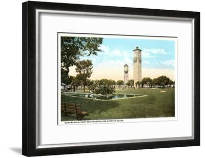 Fort Sam Houston, San Antonio, Texas--Framed Art Print
