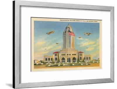Randolph Air Field, San Antonio, Texas--Framed Art Print