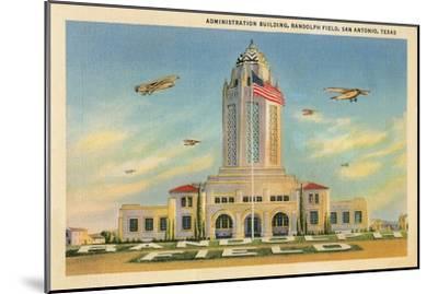 Randolph Air Field, San Antonio, Texas--Mounted Art Print