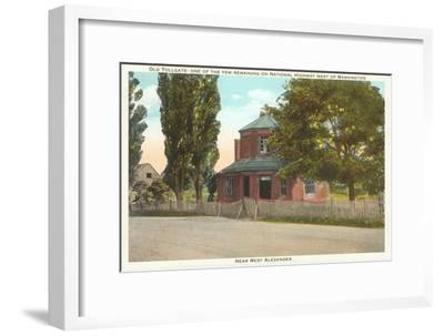 Old Tollgate, Alexandria, Virginia--Framed Art Print