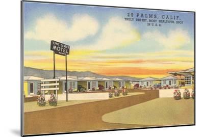 29 Palms Civic Center Vintage Motel--Mounted Art Print