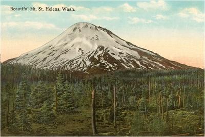 Mt. St. Helens, Washington--Stretched Canvas Print