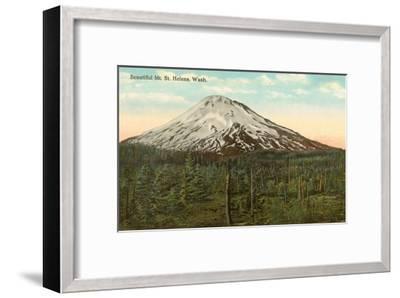 Mt. St. Helens, Washington--Framed Art Print
