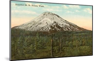 Mt. St. Helens, Washington--Mounted Art Print