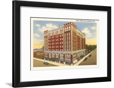 Hotel Northland, Green Bay, Wisconsin--Framed Art Print