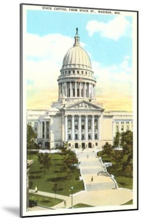 State Capitol, Madison, Wisconsin--Mounted Art Print