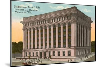 Northwestern Mutual Life Building, Milwaukee, Wisconsin--Mounted Art Print