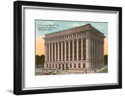 Northwestern Mutual Life Building, Milwaukee, Wisconsin--Framed Art Print