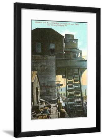 Iron Works, Pittsburgh, Pennsylvania--Framed Art Print
