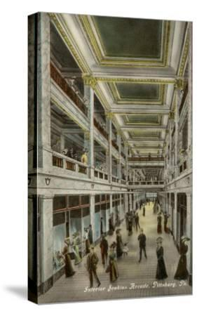 Interior, Jenkins Arcade, Pittsburgh, Pennsylvania--Stretched Canvas Print