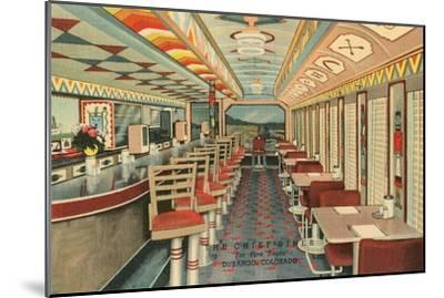 Chief Diner, Durango, Colorado--Mounted Art Print