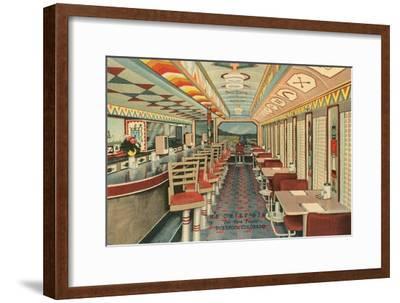 Chief Diner, Durango, Colorado--Framed Art Print