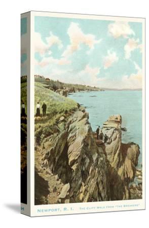 Cliff Walk, Newport, Rhode Island--Stretched Canvas Print