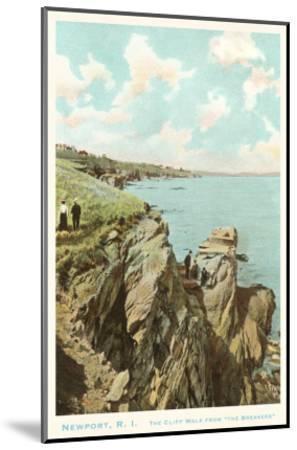 Cliff Walk, Newport, Rhode Island--Mounted Art Print