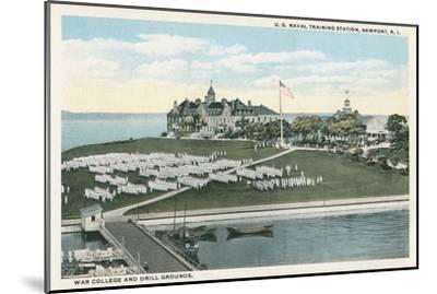 Naval Training Station, Newport, Rhode Island--Mounted Art Print