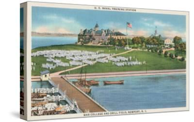War College, Newport, Rhode Island--Stretched Canvas Print