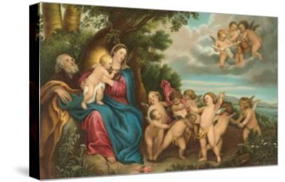 Flight to Egypt by Van Dyck, Florence--Stretched Canvas Print