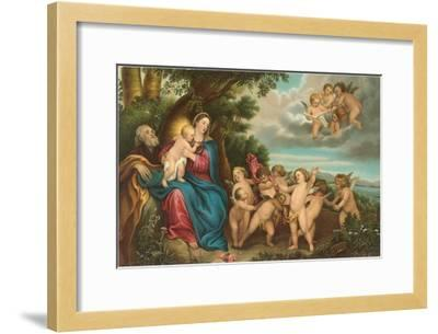 Flight to Egypt by Van Dyck, Florence--Framed Art Print