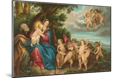 Flight to Egypt by Van Dyck, Florence--Mounted Art Print