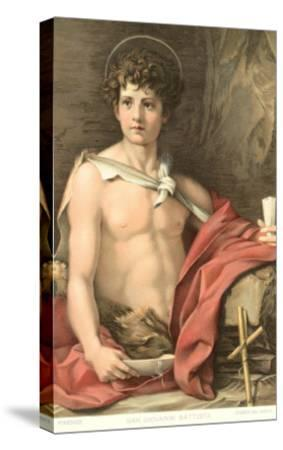 Young John the Baptist--Stretched Canvas Print