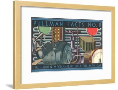 Pullman Facts No. 8, Hidden Mechanisms, Graphics--Framed Art Print