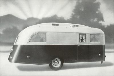 The Dawn of a New Trailer--Stretched Canvas Print