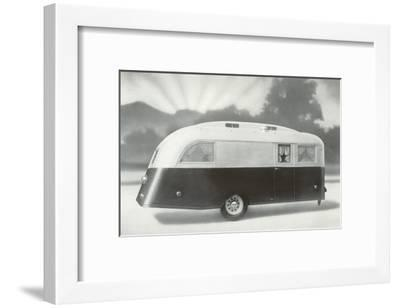 The Dawn of a New Trailer--Framed Art Print