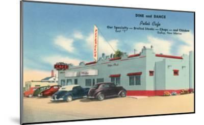 Pete's Cafe, Gallup, New Mexico, Route 66--Mounted Art Print