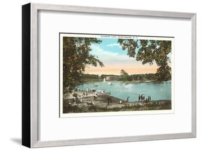 Rainbow Lake, Spartanburg, South Carolina--Framed Art Print